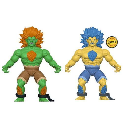 Street Fighter Blanka Savage World Action Figure