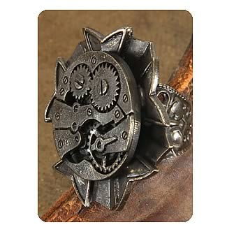 Steampunk Antique Watch Gears Ring