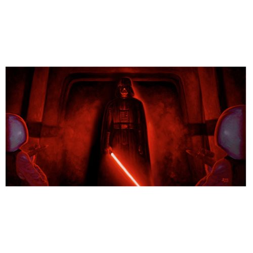 Star Wars It Begins by Jaime Carrillo Canvas Giclee Art Print
