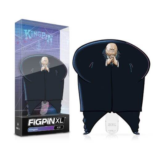 Spider-Man: Into the Spider-Verse Kingpin FiGPiN XL Enamel Pin