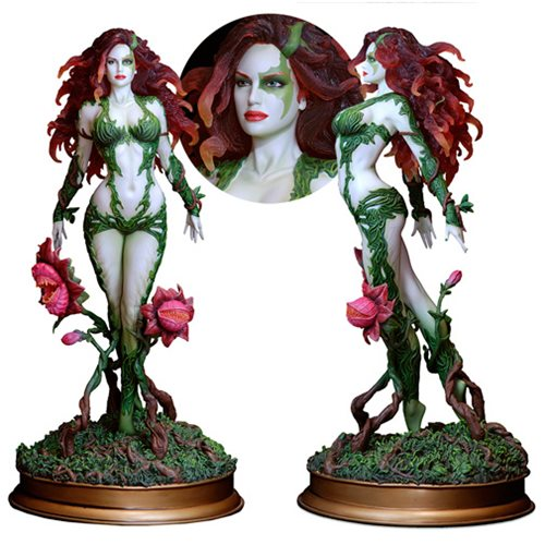 Fantasy Figure Gallery DC Comics Collection Poison Ivy Resin Statue - Variant Exclusive