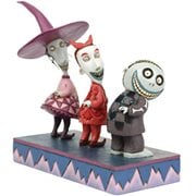 Disney Traditions Nightmare Before Christmas Lock, Shock, and Barrel Up to No Good by Jim Shore Statue