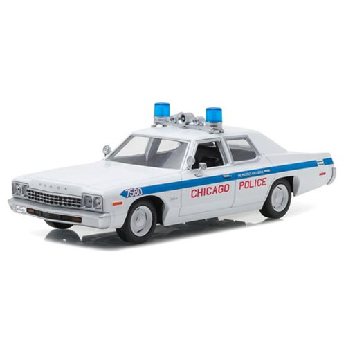 Blues Brothers Chicago PD 1975 Dodge Monaco 1:24 Scale Die-Cast Vehicle