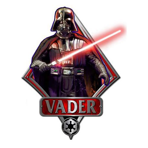 Star Wars Darth Vader Die-Cut Wood Wall Art