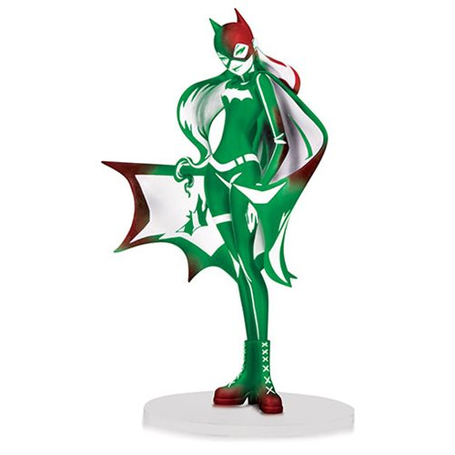 DC Artists' Alley Batgirl by Sho Murase Holiday Variant Vinyl Figure