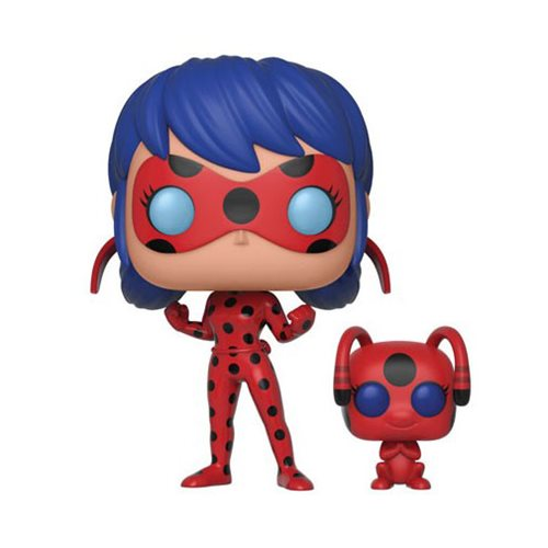 Miraculous Ladybug with Tikki Buddy Pop! Vinyl Figure