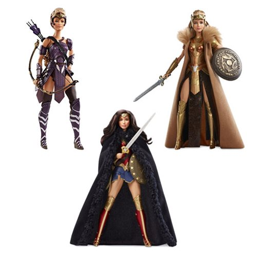 Wonder Woman Movie Barbie Doll Case