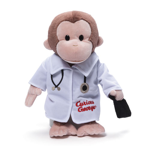 Curious George Doctor Plush