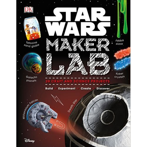 Star Wars Maker Lab: 20 Craft and Science Projects Hardcover Book