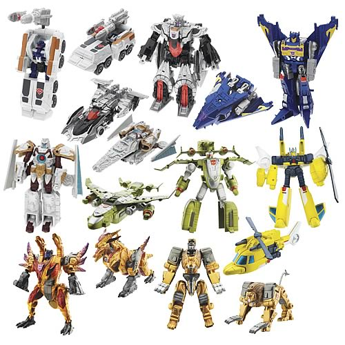 Transformers Legends of Cybertron Wave 3
