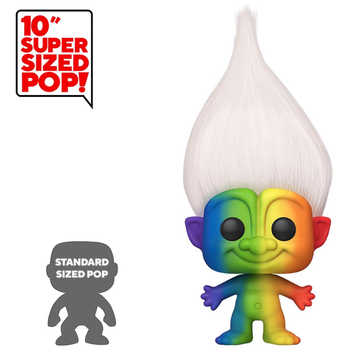 Trolls Funko Pop!: Toy New Rainbow Troll