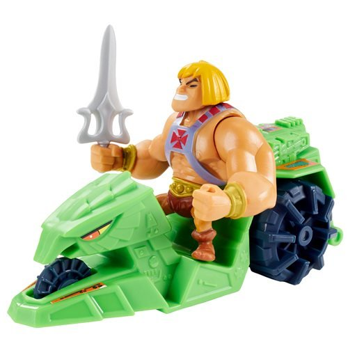 Masters of the Universe Eternia Minis He-Man and Ground Ripper Pack