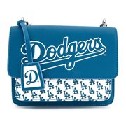 MLB Los Angeles Dodgers Logo Crossbody Purse