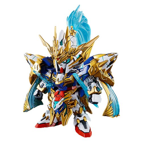 SD Sangoku Soketsuden Zhao Yun 00 Gundam and Blue Dragon Drive SD Model Kit