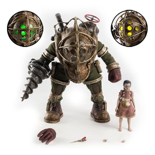 Bioshock Big Daddy and Little Sister 1:6 Scale Action Figure 2-Pack