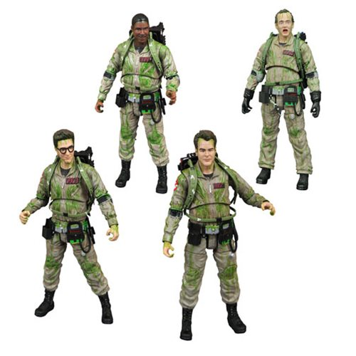 Ghostbusters Slimed Figure Box Set - SDCC 2019 Exclusive
