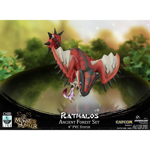 Monster Hunter Limited Edition Rathalos 4-Inch Statue