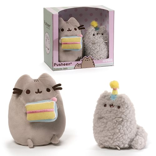 Pusheen the Cat Birthday Collector Set Plush