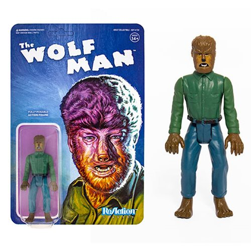 Universal Monsters The Wolfman 3 3/4-inch ReAction Figure