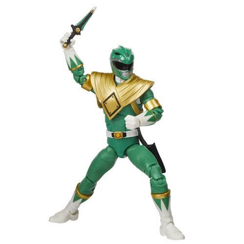 Power Rangers Lightning Collection Mighty Morphin Green Ranger 6-Inch Action Figure