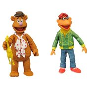 The Muppets Select Fozzie and Scooter Figures, Not Mint