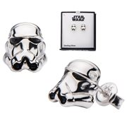 Star Wars Stormtrooper Sterling Silver 3D Stud Earrings