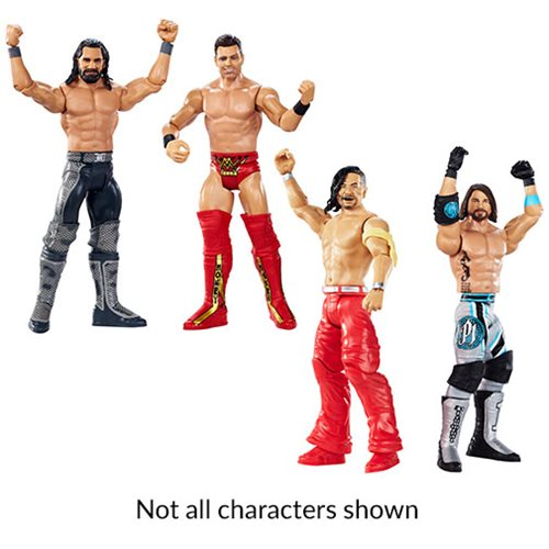 WWE WrestleMania 2019 Action Figure 2-Pack Case