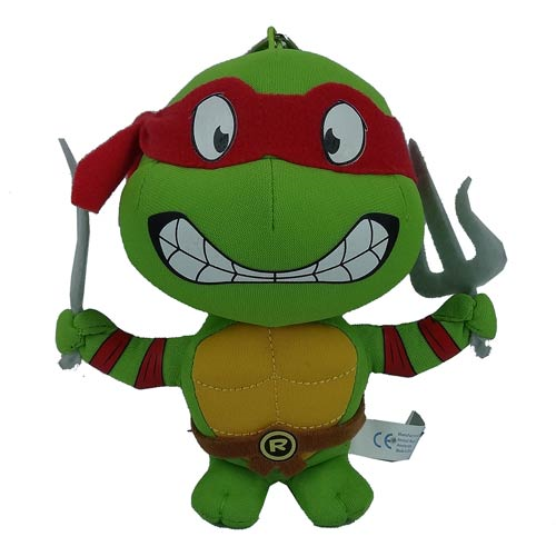 Teenage Mutant Ninja Turtles Raphael Super Deformed 5 1/2-Inch Plush Key Chain