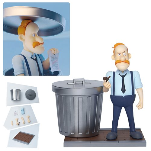 Inspector Gadget Chief Quimby Megahero Series Action Figure