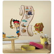 Jake and the Never Land Pirates Peel-and-Stick Growth Chart