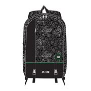 Lucky Charms Black and White Print Nylon Backpack