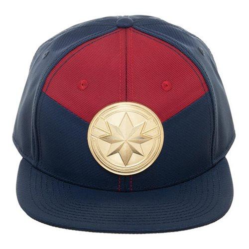 a4bf8a004 Captain Marvel Suit-Up Snapback Cap