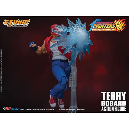 King of Fighters '98 Terry Bogard 1:12 Scale Action Figure