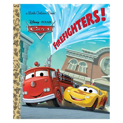 Disney/Pixar Cars Firefighters! Little Golden Book