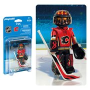 Playmobil 9024 NHL Calgary Flames Goalie Action Figure
