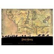 Lord of the Rings Trilogy Middle Earth MightyPrint Wall Art Print