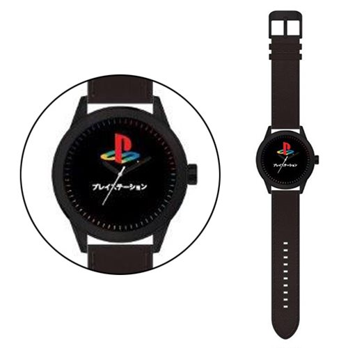 Playstation Black Strap Watch