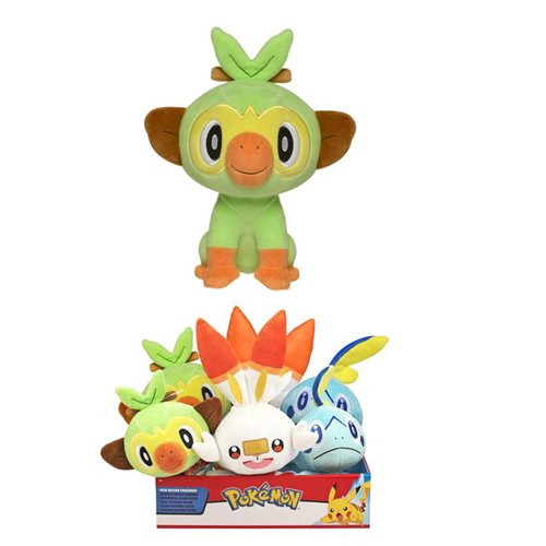 Pokemon New Galar Region 8-Inch Random Plush