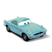 Cars Movie Finn McMissile Vehicle Snap Fit Model Kit