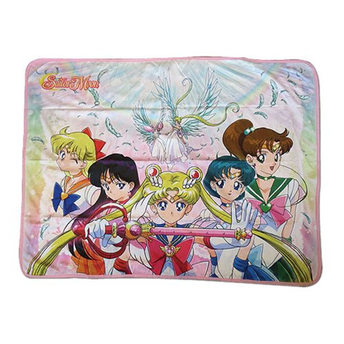 Sailor Moon Super Sailor Moon Group 2 Sublimation Throw Blanket