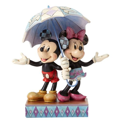 Disney Traditions Mickey and Minnie Sharing Statue