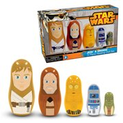 Star Wars Jedi and Droids Nesting Dolls