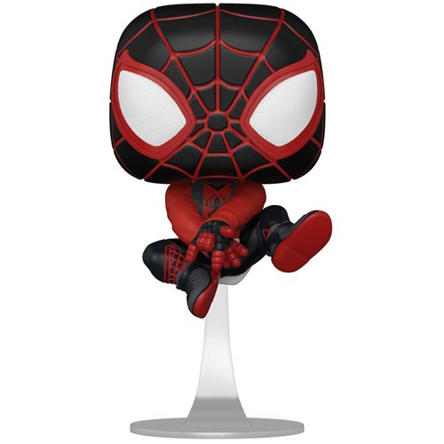 Spider-Man Miles Morales Game Bodega Cat Suit Pop! Vinyl Figure