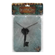 Steampunk Large Antique Key Gear Necklace