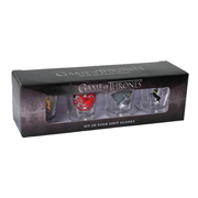 Game of Thrones House Sigils Shot Glass 4-Pack