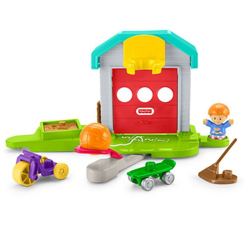 Little People Big Helpers Garage Playset