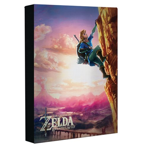 The Legend of Zelda Luminart Light-Up Canvas Art Print