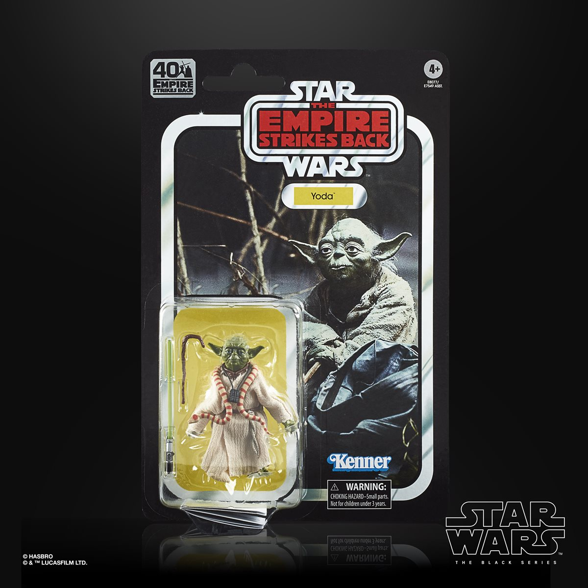 Star Wars The Black Series Empire Strikes Back 40th Anniversary 6 Inch Yoda Action Figure Entertainment Earth