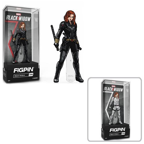 Black Widow Movie Black Widow FiGPiN Classic Enamel Pin