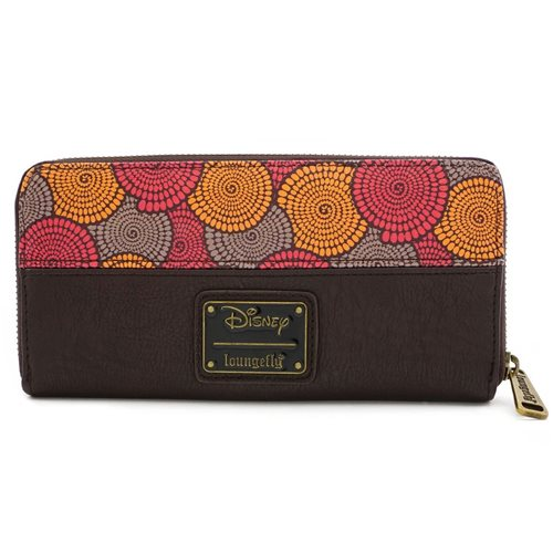 Lion King African Floral Print Wallet